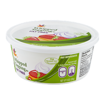 Ahold Whipped Topping Fat Free