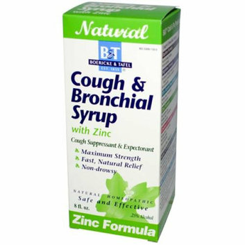 Boericke & Tafel Boericke and Tafel Cough And Bronchial Syrup With Zinc 8 fl oz