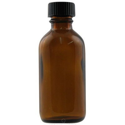 Frontier Natural Products - Amber Glass Round Bottle with Black Cap - 2 oz.