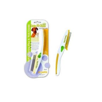 M2 Pets M2Pets Snap-N-Clean Flea & Tick Comb