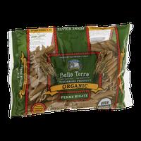 Bella Terra Organic Whole Wheat Penne Rigate Pasta
