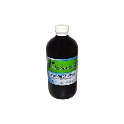 Desouzas 100% Pure Liquid Chlorophyll 16 Oz by DeSouza's