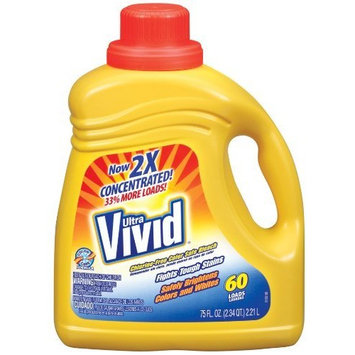 Vivid Color Safe Bleach, 75 Ounce (Pack of 6)