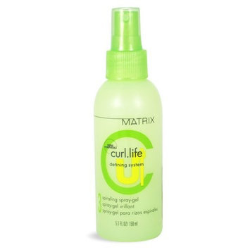 Curl Life by Matrix Spiraling Spray Gel, 5.1 oz
