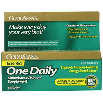 GoodSense One Daily Multivitamin and Mineral Supplement Essential, 100 Count
