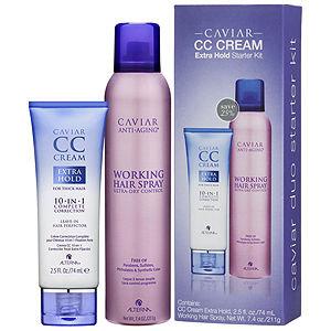 ALTERNA CAVIAR CC Cream Extra Hold Starter Kit Limited Edition, 1 kit