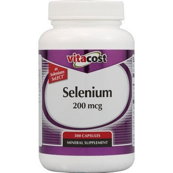 Vitacost Brand Vitacost Selenium SeLECT -- 200 mcg - 300 Capsules