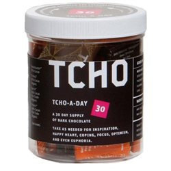 Tcho Chocolate Tcho A Day 30 Assorted Dark Chocolate Squares