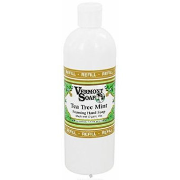 Vermont Soapworks - Foaming Hand Soap Refill Tea Tree Mint - 16 oz.