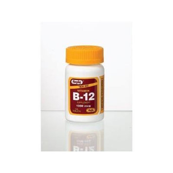 Vitamin B-12 Tablets 1000mcg 100ct (Pack of 2)