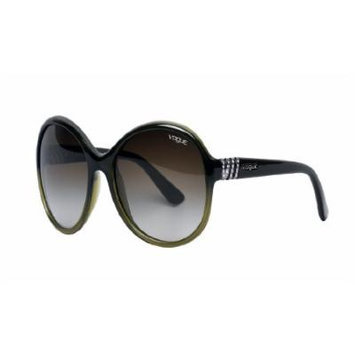 Vogue VO2734/B/S Sunglasses - Olive Green / Brown Gradient (2043/8E)