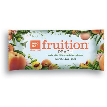 PROBAR Fruition Superfood Snack Bar, Peach, 1.7-Ounce, 12-count Box