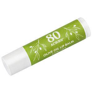 80 Acres Olive Oil Lip Balm Tube, .25 oz