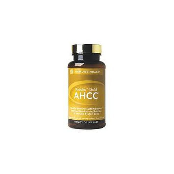 Quality of Life Labs AHCC Kinoko Gold Mushroom 500 mg 60 Vcaps - Natural Immune Booster Health Support
