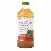 GNC SuperFoods Certified Organic Apple Cider Vinegar 16 oz / 473 ml (Pack of 2)