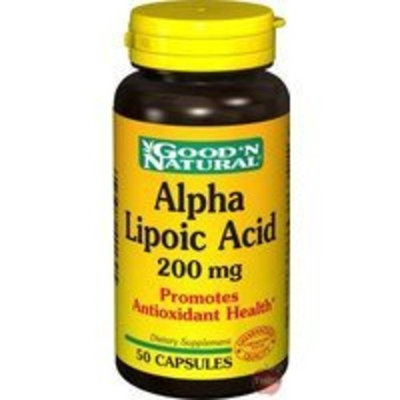 Good 'N Natural Alpha Lipoic Acid 200mg - 50 caps,(Good'n Natural)