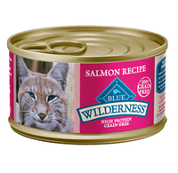 THE BLUE BUFFALO CO. BLUE™ Wilderness® Salmon Recipe For Adult Cats
