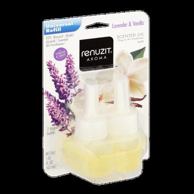 Renuzit Aroma Lavender & Vanilla Scented Oil Air Freshener Refill