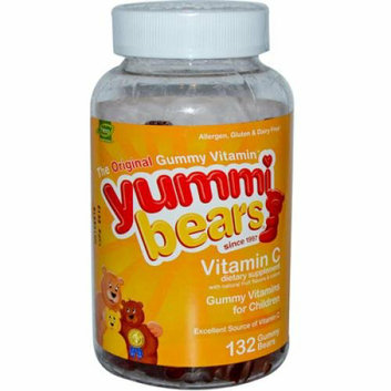 Hero Nutritionals Yummi Bears Vitamin C 132 Gummy Bears