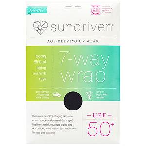 Sundriven 7-Way Wrap, OS, Black, 1 ea
