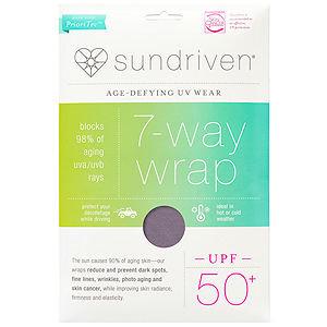 Sundriven 7-Way Wrap, OS, Graphite, 1 ea