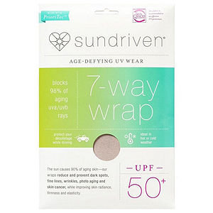 Sundriven 7-Way Wrap, OS, Sand, 1 ea