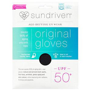Sundriven Original Touchscreen Friendly Gloves, XS/S, Black, 1 ea
