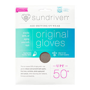 Sundriven Original Touchscreen Friendly Gloves, XS/S, Stone, 1 ea