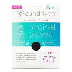 Sundriven Original Touchscreen Friendly Gloves, M/L, Black, 1 ea