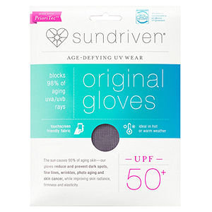 Sundriven Original Touchscreen Friendly Gloves, M/L, Graphite, 1 ea