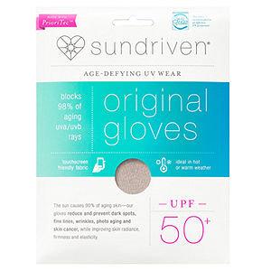 Sundriven Original Touchscreen Friendly Gloves, M/L, Sand, 1 ea