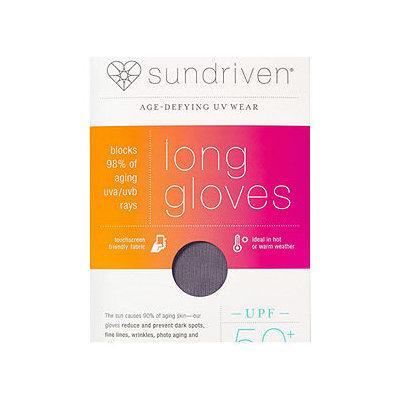 Sundriven Long Touchscreen Friendly Gloves, M/L, Graphite, 1 ea