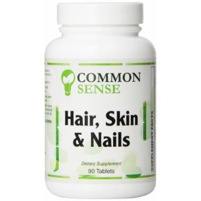 Common Sense Hair Skin and Nails Formula Tablets, 90 Count