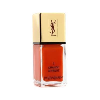 Yves Saint Laurent La Laque Couture Nail Lacquer - # 3 Orange Afrique - 10ml/0.34oz