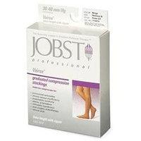 Jobst 114475 Vairox 30-40 mmHg Open Toe Knee Highs with Zipper - Size- Large A Short