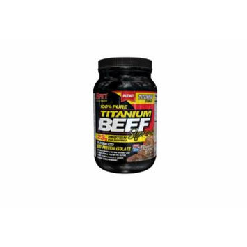 SAN 100% Pure Titanium Beef Supreme Supplement, Chocolate Fudge, 2 Pound