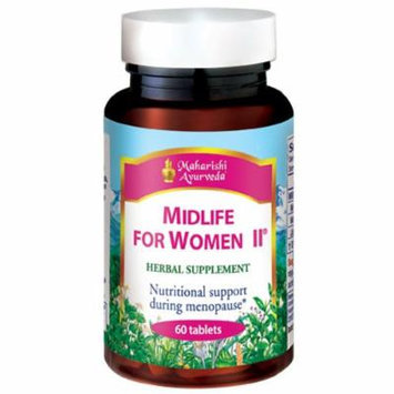 Midlife for Women II, 500mg, 60 Herbal Tablets