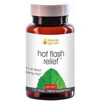 Hot Flash Relief, 500 mg, 120 Herbal Tablets