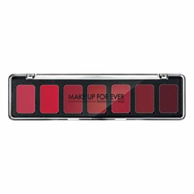Make Up For Ever 7 Rouge Artist lipstick Palette H3 Red Shades