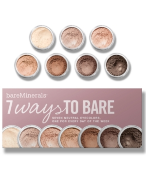 Bare Escentuals bare Minerals 7 Ways to Bare Makeup Value Set