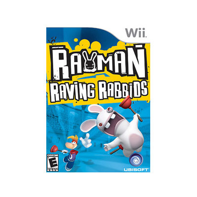Rayman Raving Rabbids Wii Game UBISOFT