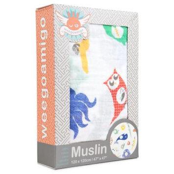 Weegoamigo Single Pack Muslin - Tummy Time - 1 ct.