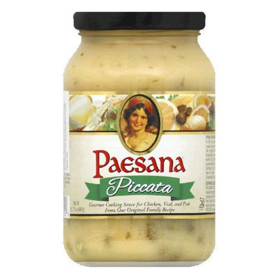 Paesana COOKING SAUCE, PICCATA, (Pack of 6)
