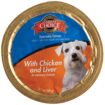 Grreat ChoiceA Delectable Entrees Adult Dog Food