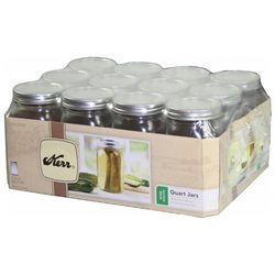 JARDEN ALLTRISTA 1 Quart Wide Mouth Canning Jars
