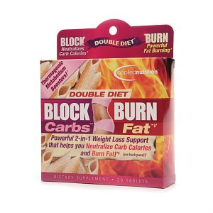 Applied Nutrition Double Diet Block Carbs & Burn Fat