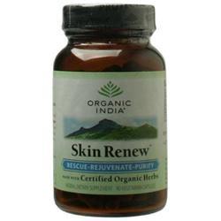 Organic India Usa Skin Renew by Organic India - 90 Vegetarian Capsules