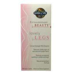 Garden of Life Extraordinary Beauty - Lovely Legs - 30 Caplets