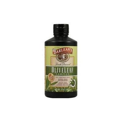 Barleans Olive Leaf Complex - Natural Flavor Barlean's 16 oz Liquidl