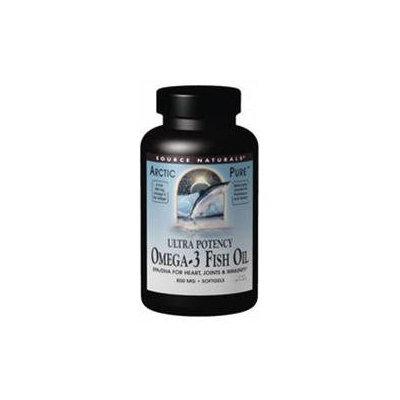 Source Naturals - ArcticPure Omega-3 Fish Oil 850 mg. - 60 Softgels